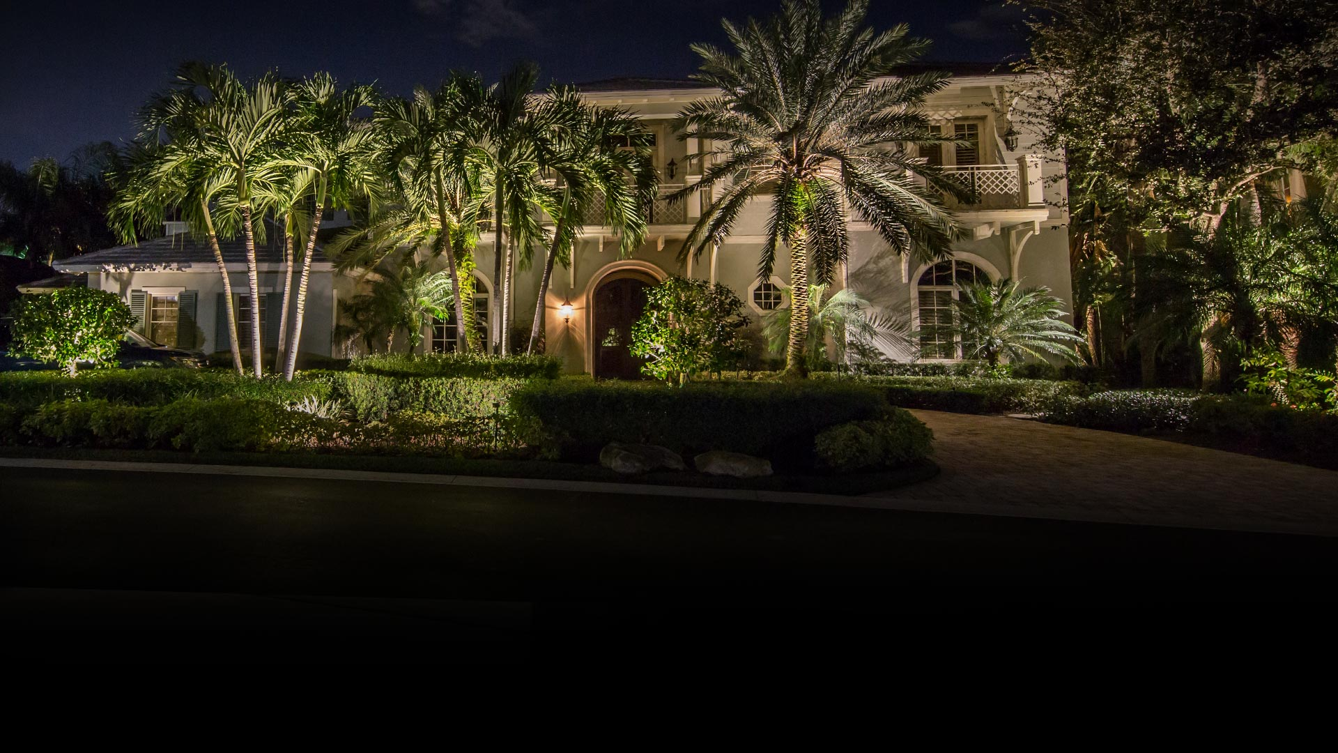 Luxury Illumination Outdoor Lighting Palm Beach